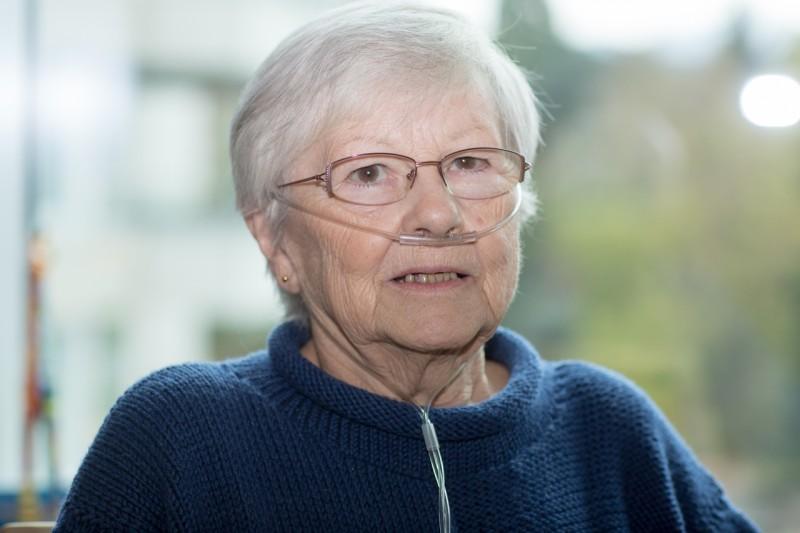 Maria Dubacher - nach einem bewegten Leben durfte sie sterben
