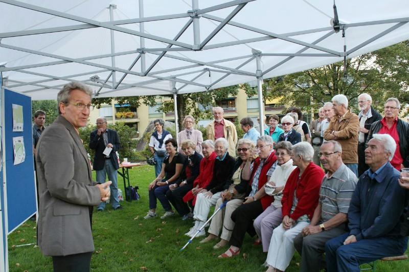 Generationenpark Hirtenhof Infoveranstaltung