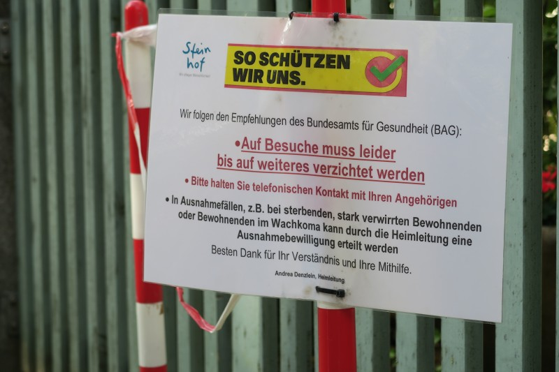 Corona-Pandemie in Luzerner Pflegeheimen (III)