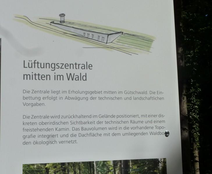 Der Gütschwald wird zum Bauplatz