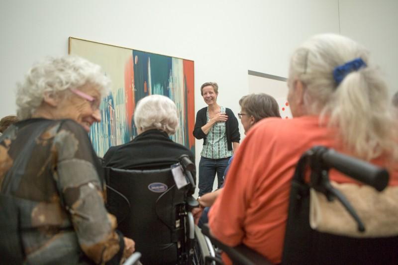 Bildbetrachtung für Demenzkranke im Kunstmuseum 7. Juni 2016