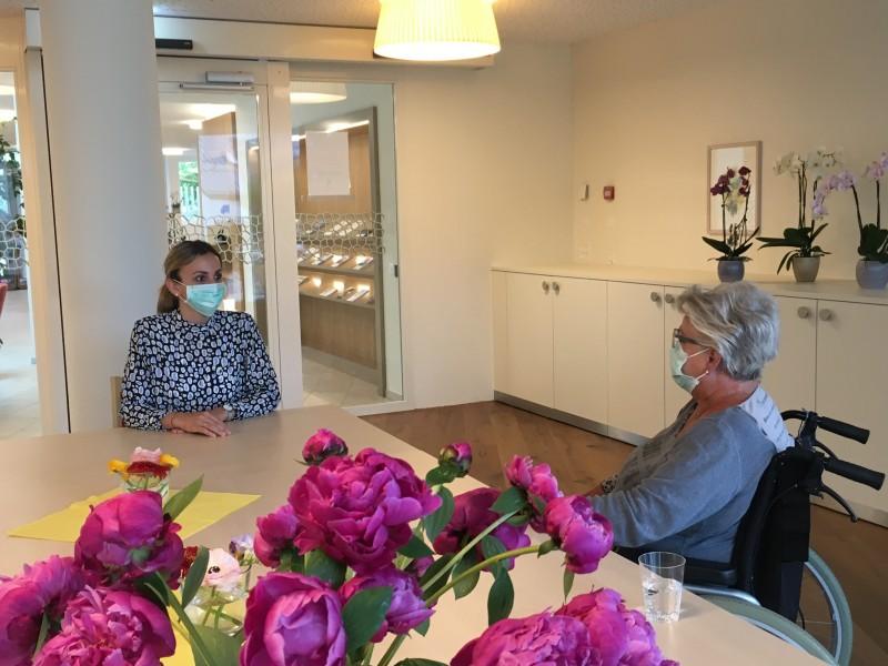 Viva Luzern ermöglicht Begegnungen in Besuchsräumen